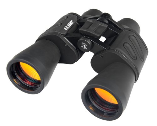 U.S. Army US-BF2050 20x50 Wide-Angle Binoculars (Black) by U.S. Army