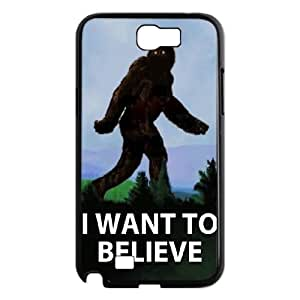 DIY I WANT TO BELIEVE Case, DIY Case for samsung galaxy note 2 n7100 with I WANT TO BELIEVE (Pattern-2)
