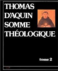 Somme théologique par Saint Thomas d'Aquin