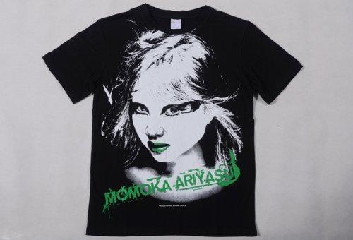 ももいろクローバーZ 公式グッズ Lady-ZのビジュアルTシャツ【有安杏果】Mサイズ   B00DEWQA14