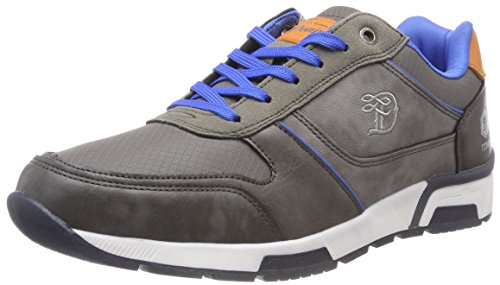 Tom Tailor 4885201, Sneaker Uomo Grau (Coal)