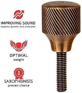 Tzong 5Pcs Brass Sax Neck Tightening Screws,Accessories for Soprano Alto Tenor Saxophone