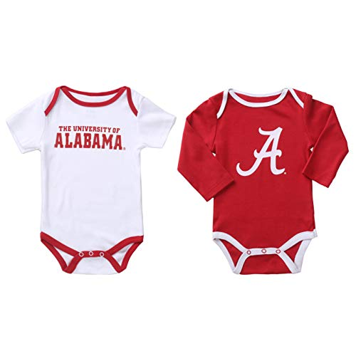Alabama Crimson Tide 2 pcs Baby Bodysuits (0-3)