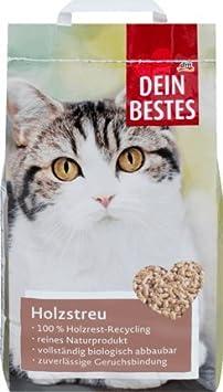 Dein Bestes Katzenstreu Holzstreu 10 L Amazonde Drogerie