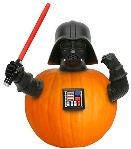 Star Wars Homemade Costumes Kids (Star Wars Darth Vadar Pumpkin Push in Set 4 Pc)