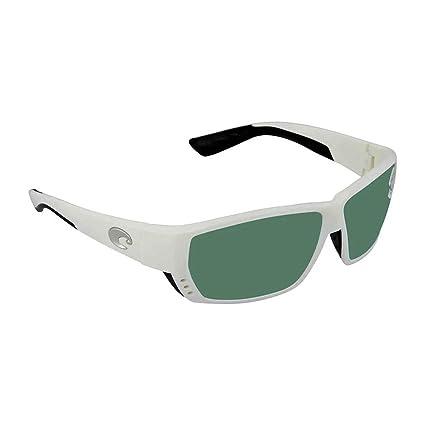 23ca84f9cafa Amazon.com: Costa Del Mar Tuna Alley 580G Tuna Alley, White Green Mirror,  Green Mirror: Sports & Outdoors