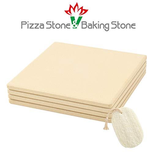 GOVOG Pizza Stone 4 Sets 7.5