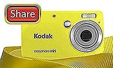 Kodak EasyShare MINI m200 10 MPデジタルカメラwith 3 x光学ズームと2.5インチLCD – イエロー   B0073WNMAS