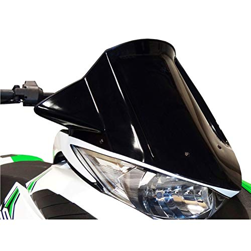 Arctic Cat Windshield - Arctic Cat New OEM Mid-Height Windshield Black 2012-2016 ZR F XF M 6606-134