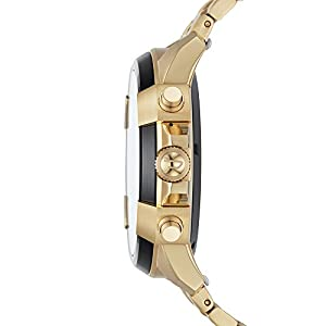 Diesel Men's Touchscreen Watch with Stainless-Steel Strap, Gold, 24 (Model: DZT2005)