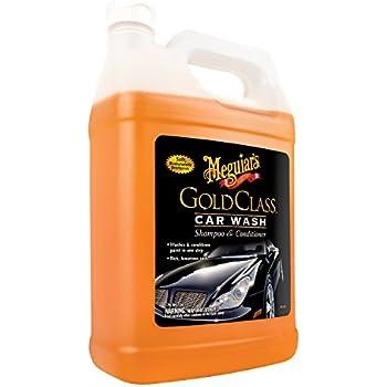 Meguiar's G7101FFP Gold Class Car Wash, 128 fl. oz, 1 Pack
