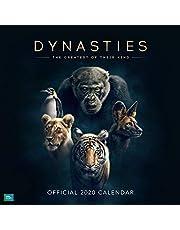 BBC Dynasties 2020 Calendar - Official Square Wall Format Calendar