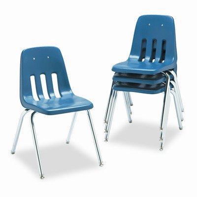 - 9000 Series Plastic Classroom Chair [Set of 4] Seat Height: 18