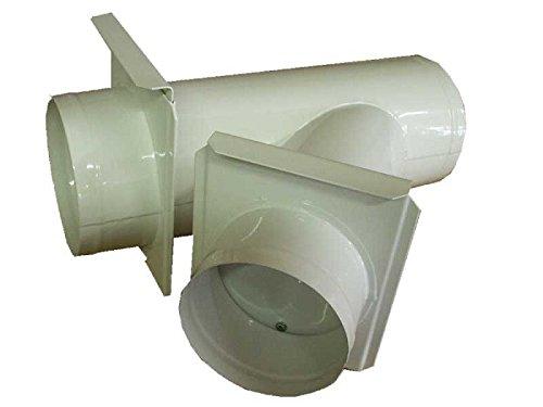 Abzweiger mit Schieber 120-120/120mm Holzprofi
