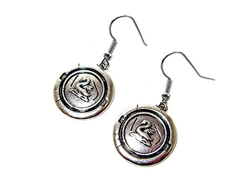 Once Upon a Time Emma Swan Dangle Earrings Gift Box Included ()