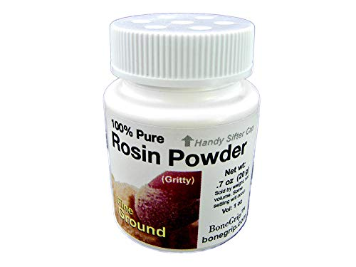 Fine Ground 100% Pure Rosin Powder, sifter cap, Net Wt: .7 oz (20 g), Vol: 1 oz