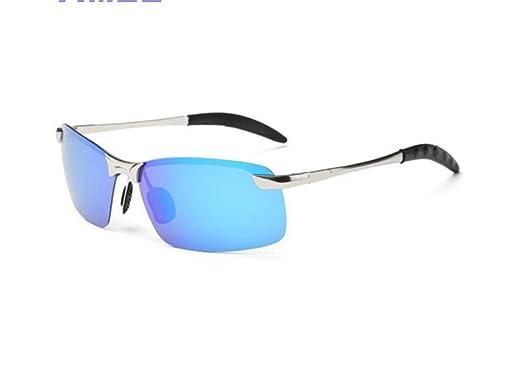 XIAOGUAI66 Gafas de Sol de Color para Hombre Gafas de Sol ...