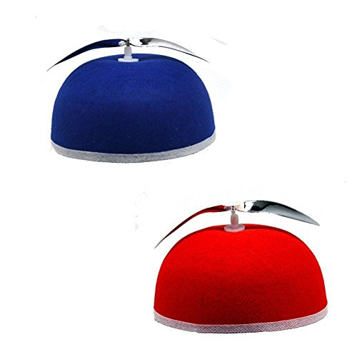 Hat - Propeller Beanie Accessory (Red or Blue