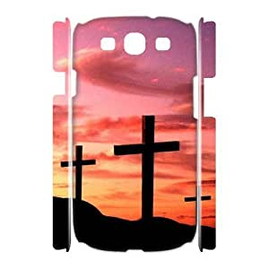 Cross Brand New 3D Cover Case for Samsung Galaxy S3 I9300,diy case cover ygtg549674