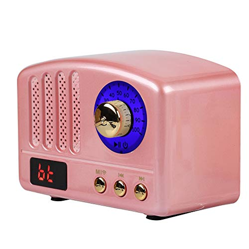 Buy retro pink radio