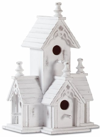 Zingz & Thingz 32347 Victorian (32347 Wood Distressed Victorian Birdhouse)