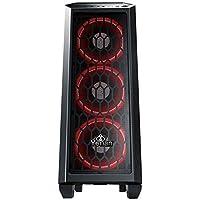 Yeyian Blade 2101 Escritorio Negro - Caja de Ordenador (Escritorio, PC, Acrilonitrilo butadieno estireno (ABS), Metal, SPCC, Negro, ATX,Micro ATX, Ventiladores de la Caja)