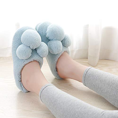 e spessa imbottiture C invernali YMFIE morbide calde pantofole comode cotone da morbide antiscivolo in casa Ciabatte e wqFHzF