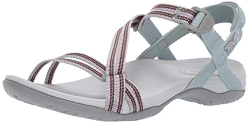 (Teva Women's W SIRRA Sandal SPILI Grey Mist 9 Medium US)