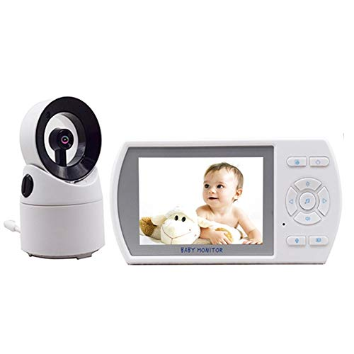 - Baby Monitors 3.5 Inch Two-Way Speaker Digital Video Baby Monitor for Newborns Infant Pets with FHSS Digital Wireless Transmission
