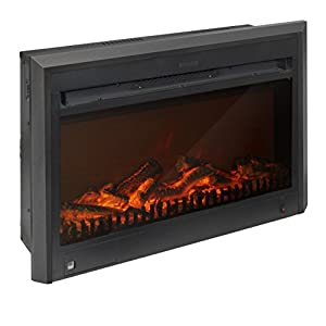 Amazon Com Corliving Fpe 105 F Electric Fireplace Insert