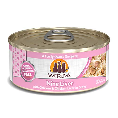 - Weruva Classic Cat Food, Nine Liver With Chicken Breast & Chicken Liver In Gravy, 5.5Oz Can (Pack Of 24)