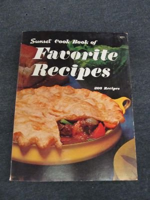 Sunset Cook Book of Favorite Recipes : 800 Recipes