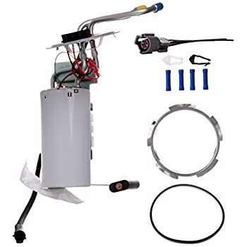 eccpp electric fuel pump module assembly w/sending unit replacement for  ford f super duty