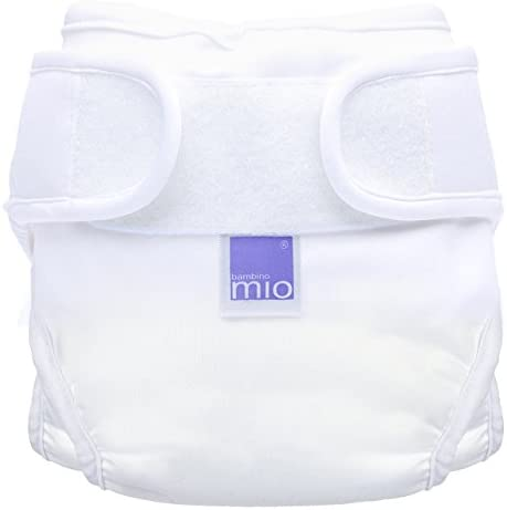 Bambino Mio Mioduo Mutandina Contenitiva Copripannolino Bianco Taglia 1 9 Kg 06 Mesi