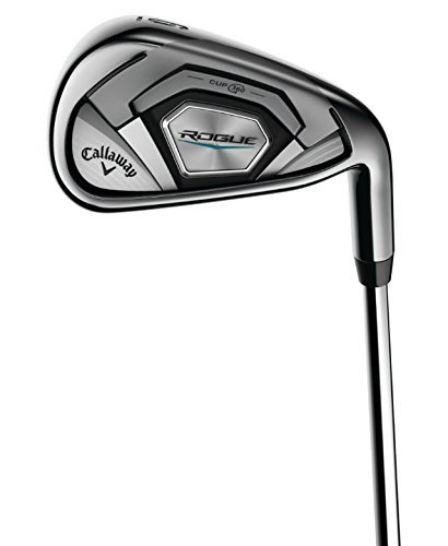 (Callaway Rogue 7 Iron, Steel, S300 (Stiff) (Certified Refurbished))