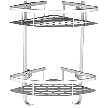 TAPCET Bathroom Shelf Stainless Steel Rectangular Shelf Wall Mounted ...