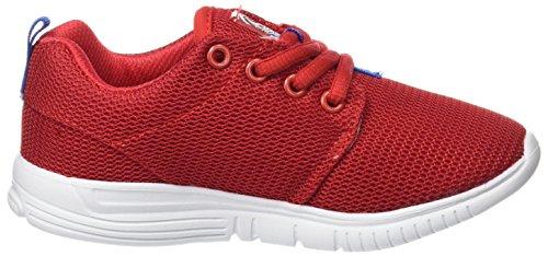 BEPPI Casual Shoe, Zapatillas de Deporte Unisex Niños Rojo (Red)