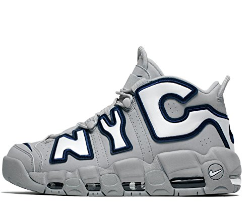 Nike Air Mere Uptempo Nyc Qs Herre Grå qMfeSY