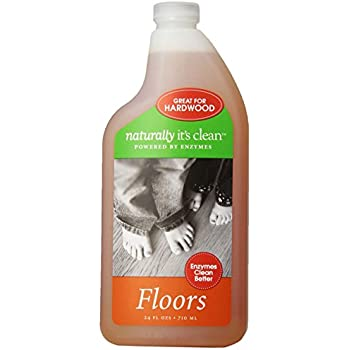 Beautiful 6 Pack Naturally Itu0027s Clean Floors Cleaner, 24 Ounce, All Natural  Plant Based