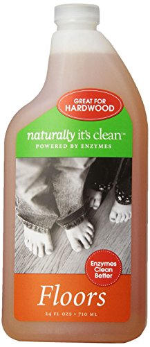 Naturally It's Clean Floor Cleaner, 24-Ounce (Pack of 6)