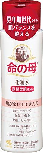 心配櫛アンペア小林製薬 命の母 化粧水 180ml 更年期世代からの肌バランスを整える 豊潤柔肌成分