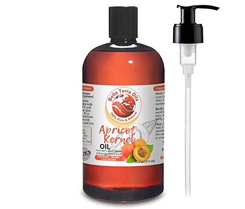 NEW Apricot Kernel Oil. 16oz. Cold-pressed. Unrefined. Organ