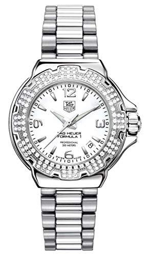 TAG Heuer Women's WAC1215.BA0852 Formula 1 Glamour Diamond Accented Watch