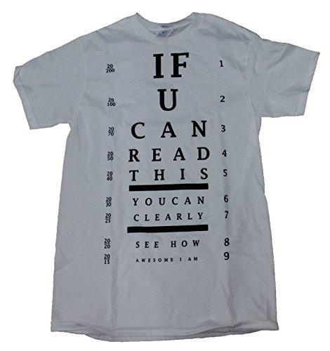 If U Can Read This You Can Clearly See How Awesome I Am Graphic T-Shirt