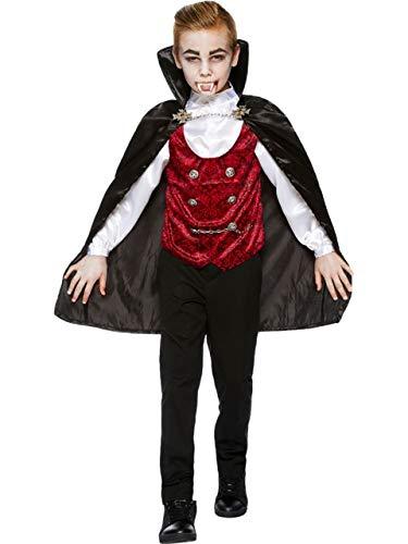 Boys Teens Dark Vampire Scary Traditional Halloween Count