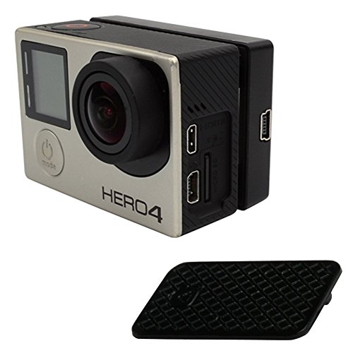 Feamos Replacement USB Side Door Dust Plug Cover Case Repair Part for GoPro Hero 3 3+ 4 Black by Feamos (Image #2)