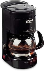 Ufesa CG7215 Arial 20, Negro, 600 W, 230 V, 230 MB/s, 50 Hz, 230 x 276 x 150 mm - Máquina de café