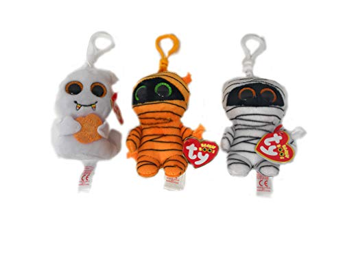 TY Beanie Boos Halloween Clips Bundle of 3,