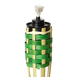 STI Torcia Bali h.60cm Bamboo da Giardino Serbatoio Metallo Anti zanzare 7 spesavip