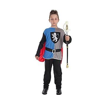 Creaciones Llopis Disfraz de Caballero Medieval para niño: Amazon ...